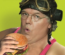 Roy Chubby Brown <P> Don't Get Fit Get Fat!