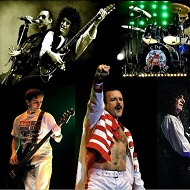 The Bohemians <p> Queen - Greatest Hits Tour